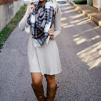 To Die For Dress (Oatmeal)
