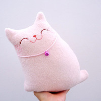 Plush Cat Pillow Softie Toy Doll - Baby Nursery Kids Bedroom Home Decoration