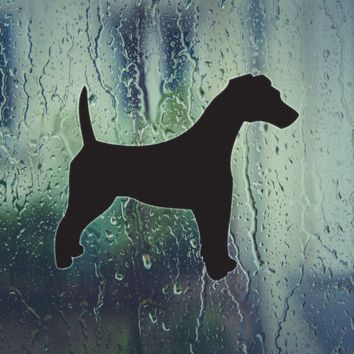 Fox Terrier Smooth Dog Vinyl Wall Decal (Permanent Sticker)