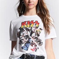 Kiss Graphic Band Tee
