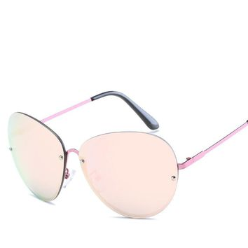 Newest Women Sunglasses Unique Brand Oversized Unique Designer Trend Colorful Lens eyelasses Women Reading Vintage Sun Glasses