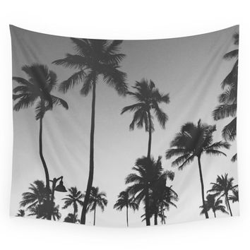 Society6 Palm Trees II Wall Tapestry