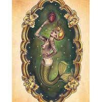Sailors Grave Art Print by Artist Brittany Morgan