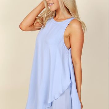 Wrapped In Love Dress Baby Blue