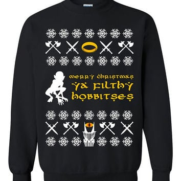 The Hobbit Ugly Christmas Sweater sweatshirt Unisex Adults