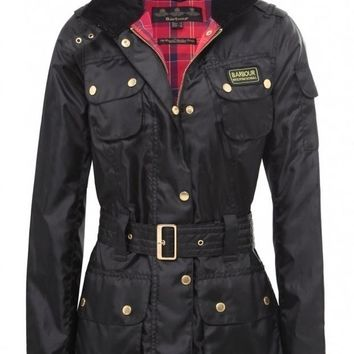Barbour Winter fashion trend plus velvet down jacket/women