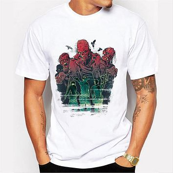 Men's T shirt Tops Men Hip hop Clothing