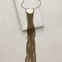 Cocheta Fringe Necklace by Lena Bernard Ivory All Necklaces