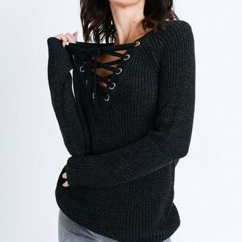 Lora Sweater in Black