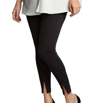 Maternal America Princess Seam Ankle Maternity Pant