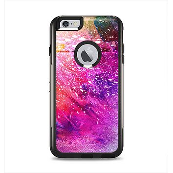 The Abstract Neon Paint Explosion Apple iPhone 6 Plus Otterbox Commuter Case Skin Set