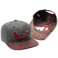 Snapback Hat with Sustain Design by Corey W. Moraes, Tsimshian
