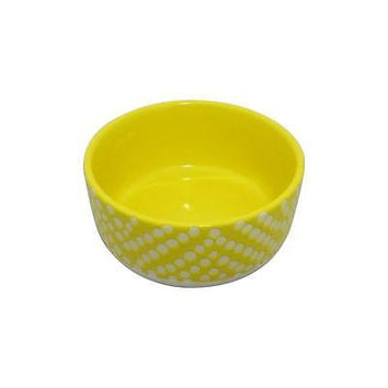 Threshold Bowls Yellow Solid With White Polka Dots