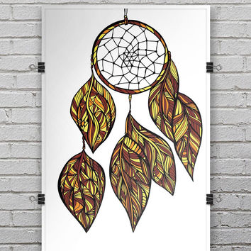 Vector Dreamcatcher - Ultra Rich Poster Print