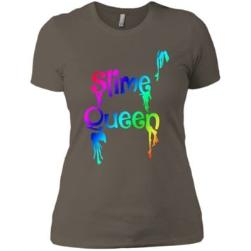 Slime Queen Shirt NL3900 Next Level Ladies' Boyfriend T-Shirt