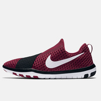 Nike - Free Connect Mesh Sneakers -Red/Black