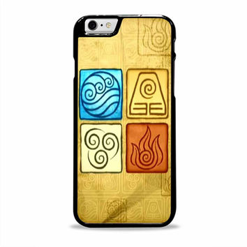 Avatar 4 Elements movies cartoon Iphone 6 plus Cases