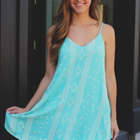 Serendipity Dress - Mint