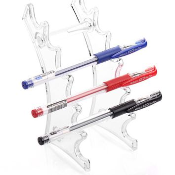 Cosmetic Brush Eyeshadow Pencil Pen Lipstick Display Stand Rack Support Holder For Desk organizer
