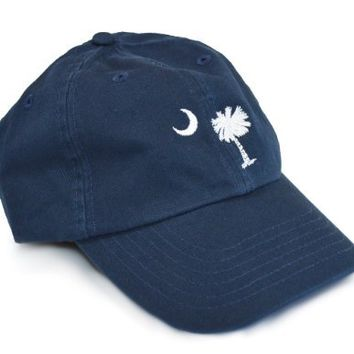 South Carolina State Flag Low Profile Baseball Hat | South Carolinian Golf Cap