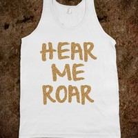 HEAR ME ROAR (KATY PERRY) TANK TOP