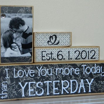 Personalized Wedding gift/Decoration Happily Ever by FayesAttic11