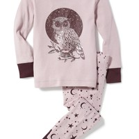 Night Owl Graphic Sleep Set for Toddler & Baby | Old Navy