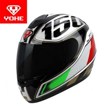 2017 Sunner New YOHE Full Face Motorcycle Helmet Knight equipment YH-993 ABS Motocross motorbike helmets made of PC visor / Lens