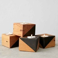 Farmhaus Douglas Fir Candle Holder- Assorted One
