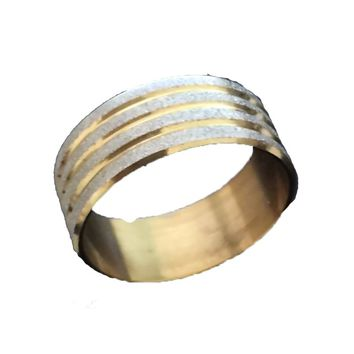 Men's High Polished Signet Stainless Steel ring