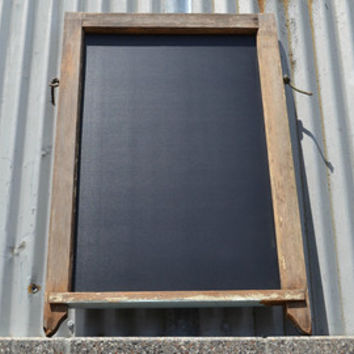 Reclaimed Wood Chalkboard, Chalkboard Sign, Framed Chalkboard Sign, Chalkboard Wedding Sign, Reclaimed Chalkboard Sign, Chalkboard Menu Sign