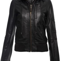 Widow Leather Jacket [B]