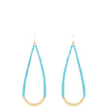 Turquoise and gold-plated drop earrings | Aurélie Bidermann | MATCHESFASHION.COM US