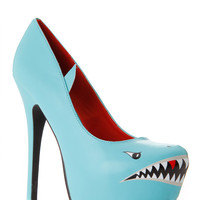 Styluxe Deadly Shark Pumps