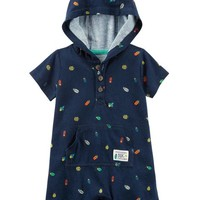 Bug Hooded Romper