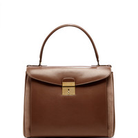 Metropolitan Leather and Suede Shoulder Bag by Marc Jacobs