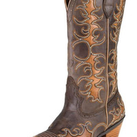 Ariat Dandy Sassy Brown Snip Toe Boots
