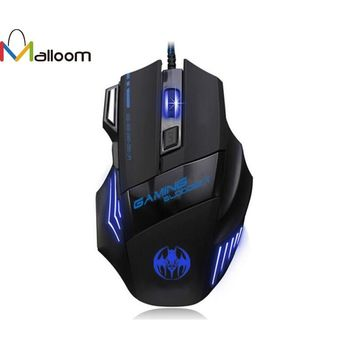 3200 DPI 7 Buttons LED Optical USB Wired Gaming Mouse