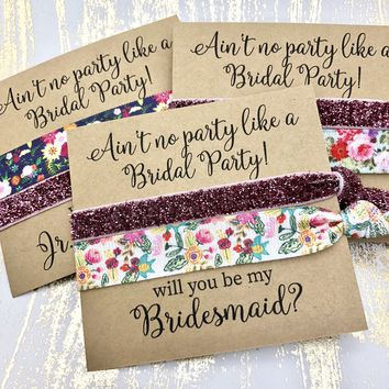 Bridesmaid Proposal | Ain't no party like a Bridal Party!