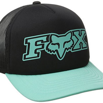 Fox Junior's Vapors Trucker Hat, Black, One Size