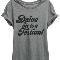 Drive Me To A Festival