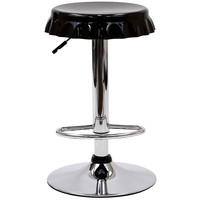 Soda Bottle Bar Stool Black