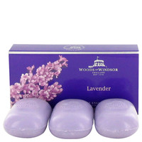Lavender By Woods Of Windsor Fine English Soap 3 X 100g