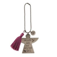 Hallmark Go With God Car Mirror Charm