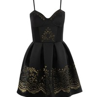 Rococo Caviar Beaded Dress - Clothing | LashesofLondon.com