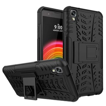 Case For LG X Power Anti Knock Mobile Phone Accessories Plastic Silicon Back Cover Phone Bags Cases For LG X Power K210 K220DS