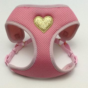 Pink Heart Harness