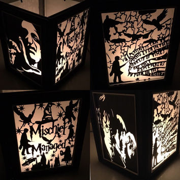 Harry Potter Inspired Lantern