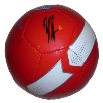 Clint Dempsey Autographed United States World Cup Nike Soccer Ball, Proof Photo
