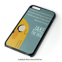 Adventure Time Jake The Dog Design for iPhone and iPod Touch Case